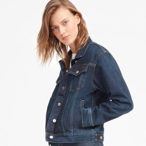 Everlane Denim Jacket Vintage Dark Blue Wash L